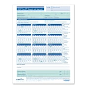ComplyRight™ 2019 Time Off Request and Approval Calendar, Pack of 50 (A0037)