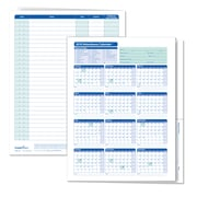 ComplyRight™ 2019 Attendance Calendar Folder, White, Pack of 25 (A3050)