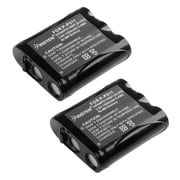 Insten Cordless Phone 3.6V Replacement Ni-MH Battery For Panasonic P-P511 TYPE 24, 2 Pack