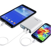 Insten® Dual USB Port 10400mAh Universal Power Bank Ext. Battery Charger Tablet & Phone (1994483)