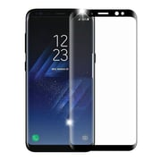 Insten Full Coverage Tempered Glass Screen Protector For Samsung Galaxy S8 - Black