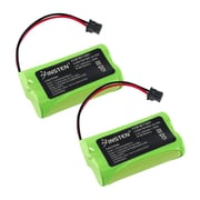 Insten Uniden BT-1007 BT-1015 Cordless Home Phone Replacement Battery 1400 mAh, 2 Pack