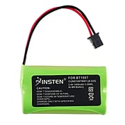Insten Uniden BT-1007 BT-1015 Cordless Home Phone Replacement Battery 1400 mAh, 2 Pack