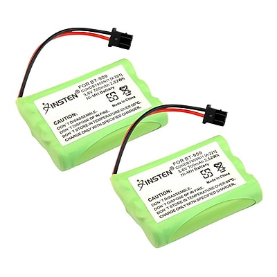 Insten 2-Pack Rechargeable Uniden BT-909 BT909 Cordless Phone Replacement Battery 3.6V