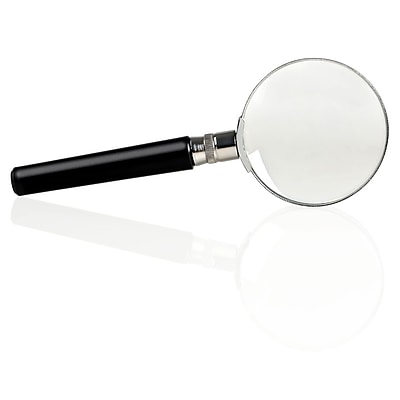 Insten Magnifying Glass 10X 50mm Handheld Magnifier Reading Jewelry Loupe Magnifying Glass - lightweight design