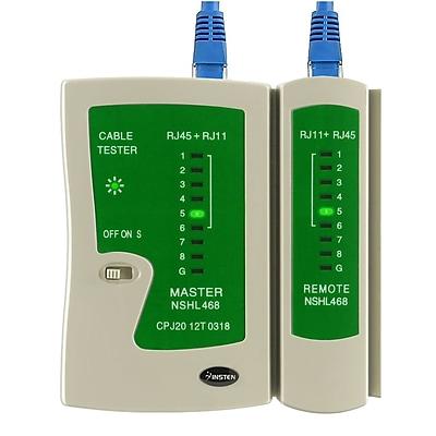 Insten® POTHRJ45TST1 Cable Tester For RJ45/RJ11 Cables