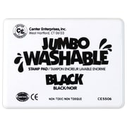 Center Enterprises® Jumbo Washable Stamp Pad, Black (CE-5506)