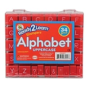 "Manuscript Alphabet Stamp Set, 1"" Uppercase"