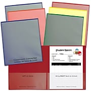 C-Line Org  25ct Classroom Connector School to Home Folders, 2 Pocket (CLI32002)