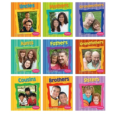 Families Books, Set of all 10