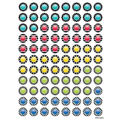 Eureka Pizza Stickers - Scented, 80ct per pike, bundle of 12 packs (EU-650934)