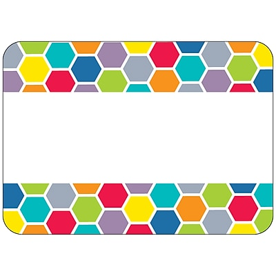 Creative Teaching Press® All Grade HexaFun Label, Hexagons, 36/Pack