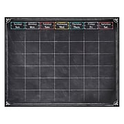 "28 1/2"" x 22 1/4"" Chalk It Up! Large Calendar Chart, Multicolor (CTP1534)"