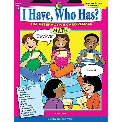 I Have, Who Has? Math, Grades 1-2