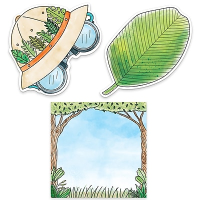 "Creative Teaching Press 10"" Designer Cut-Outs, Safari Friends Safari Fun (CTP3388)"