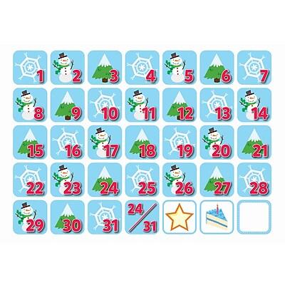 Creative Teaching Press January Seasonal Calendar Days, 36/Pack (CTP6125)