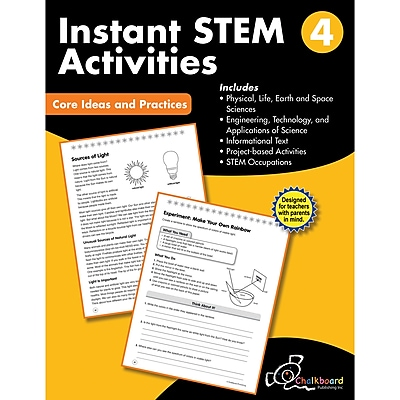 Creative Teaching Press STEM Instant Activities Workbook, Grade 4 (CTP8196)