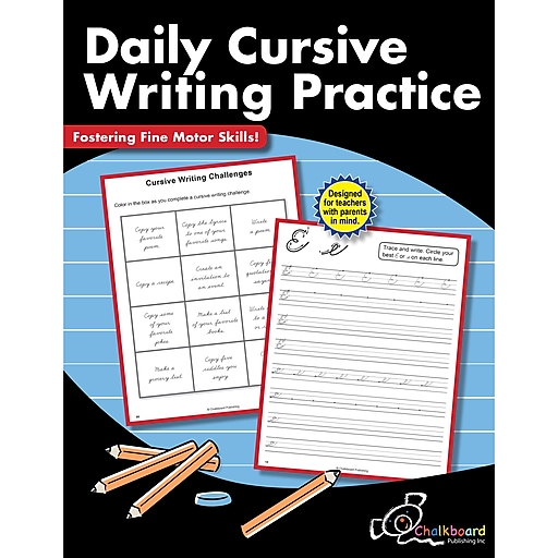 Creative Teaching Press Daily Cursive Practice, Grades 3+ (CTP8206)
