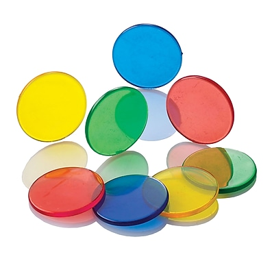 Learning Advantage™ Transparent Counters, 250/Set