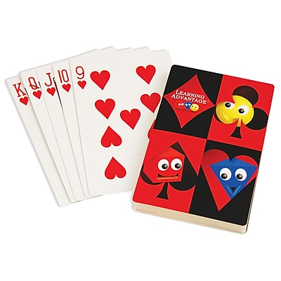 Learning Advantage Probability Giant Playing Cards (CTU7658)