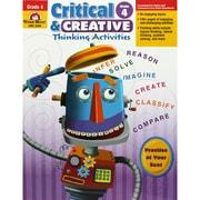 Evan-Moor® Critical and Creative Thinking Activities Book, Grade 4 (EMC3394)