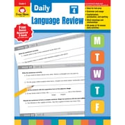 Grammar Skills, Evan-Moor® Daily Language Review Grade 4