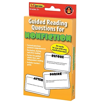Guided Reading Questions for Nonfiction
