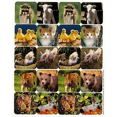 Eureka® Stickers, Baby Animals, 120/Pack