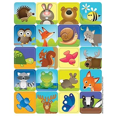 Eureka® Theme Sticker, Woodland Creatures, 120/Pack