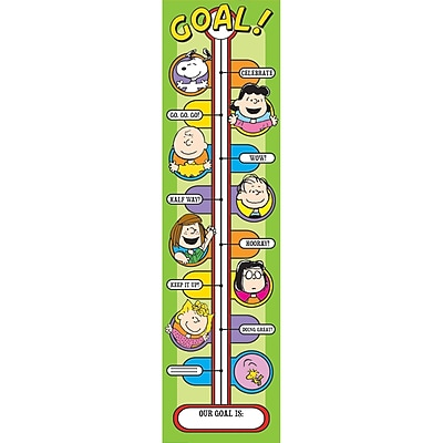 Peanuts® Goal Setting Banner