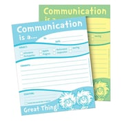 "Eureka® Dr. Seuss™ Communication Duplicate Notes, 4"" x 6"" (EU-863204)"