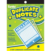 "Eureka® Hello! Duplicate Notes, 4"" x 6"" (EU-863206)"