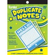 "Eureka® Hello! Duplicate Notes, 4"" x 6"" (EU-863206)"