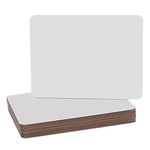"Flipside Dry Erase Board, 9 1/2"" x 12"", 12/Pack"