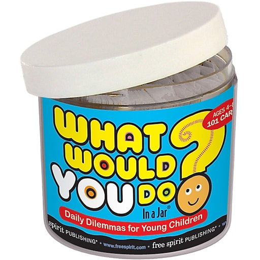 """Free Spirit Publishing® """"What Would You Do? In a Jar"""" Character Education Book (9781575424200)"""