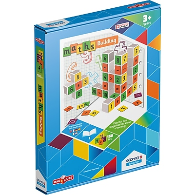 GeoMagWorld Magicube Math Building Set, 151 pieces (GMW235)