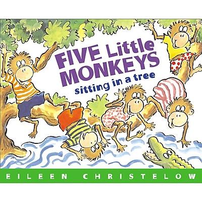 Houghton Mifflin® Five Little Monkeys Sitting In A Tree, Paperback