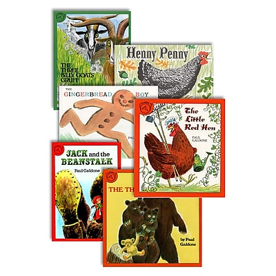 American Heritage Classic Fairy Tales Book Set, Grades pre-school - 12th