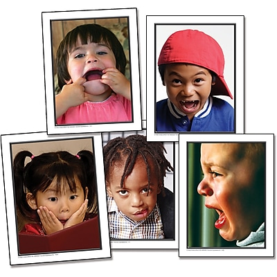 Key Education Photographic Language Development Cards, Facial Expressions