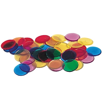 Learning Resources® Transparent Color Counting Chips (LER0131)