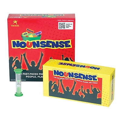 Maranda Enterprises Board Game, Nounsense