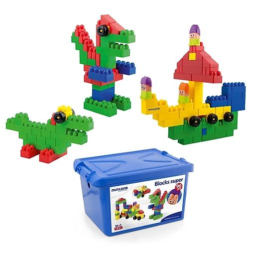 Educator's Resource School Blocks Super, 96 Pieces (MLE32338)