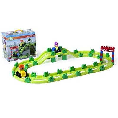 Miniland Educational Super Blocks Racing, 18 Months-5 Years