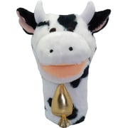 """Get Ready Kids® Bigmouth Plush Pups Cow Hand Animal Puppets, 12"""", 2 EA/BD"""