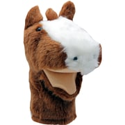 """Get Ready Kids® Bigmouth Plush Pups Horse Hand Animal Puppets, 12"""", 2 EA/BD"""