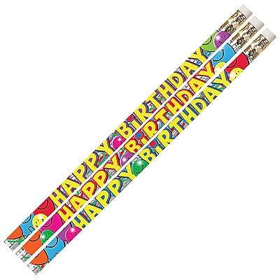 Musgrave® Birthday Bash Pencil, 12/PK, 6 PK/BD