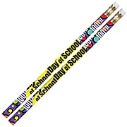 Musgrave 100th Day Of School Motivational Pencils, Pack of 12 (MUS2489D)