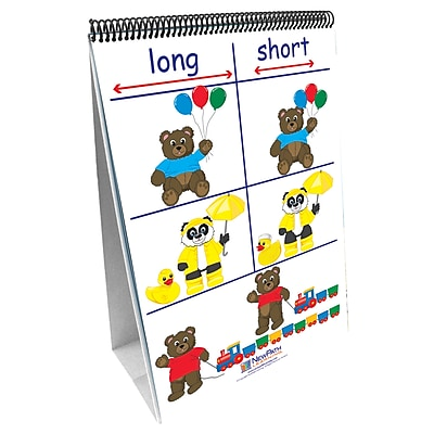 New Path Learning® Positions/Opposites Curriculum Mastery® Flip Chart Set, Math