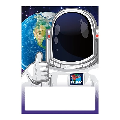 """North Star Astronaut Meet Our Class Cards, 5"""" x 7"""", Bundle of 6, 36/pack total of 216 cards (NST1514)"""