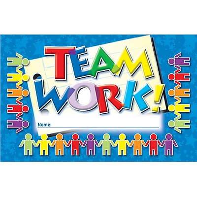Incentive Punch Cards, Teamwork